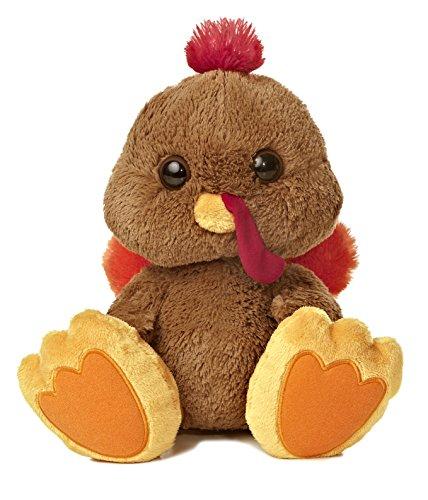 "Aurora World Taddle Toes Stuffins Turkey Plush, 10"" - 1"