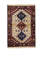CarpeTrade Alfombra Persian Yalameh 154 x 100 cm