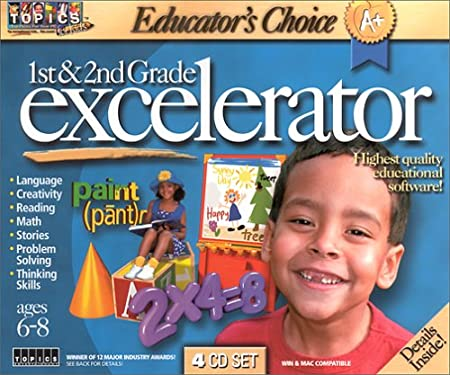 Educator's Choice 1st And 2nd Grade Excelerator