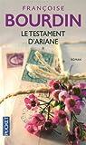 Le testament d'Ariane. 01