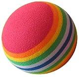 GOLWAVE(ゴルウェーブ) practice ゴルフ練習用ボール EVA リボンボール (30個セット)  GW-30 ランキングお取り寄せ