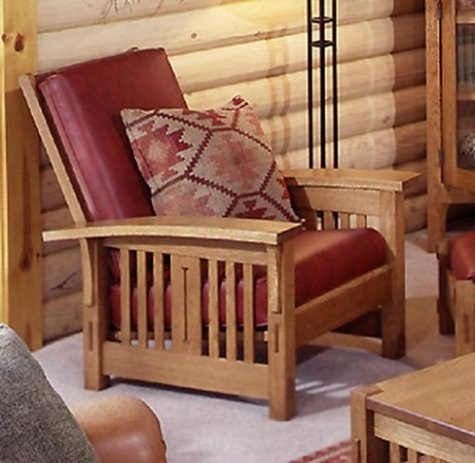 Collection Morris Chair: Woodworking Plan | Home and Garden eBooks