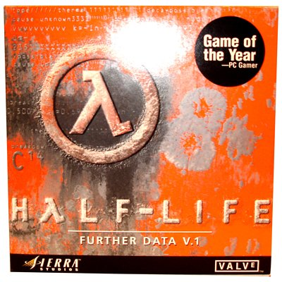 Half-life Further Data Version 1