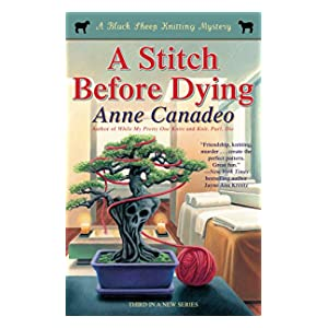 a stitch before dying  black sheep knitting mystery