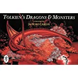 Tolkien's Dragons and Monsters Postcard Book