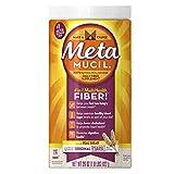 Metamucil Psyllium Fiber Supplement Original Sugar Coarse Texture Powder 114 Doses 29 Ounce Reviews