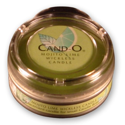Candle Breeze Small Cand-o Mojito Lime Scented Candle