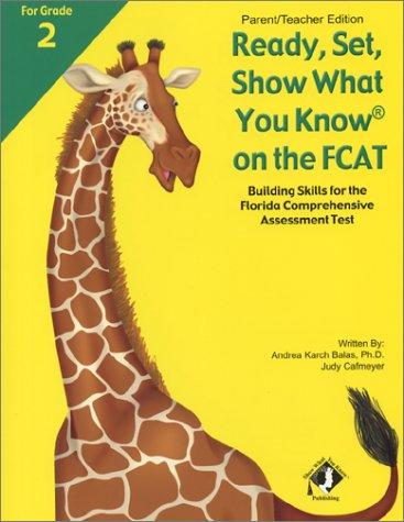 RSSWYK on the FCAT, Grade 2, Parent/Teacher Edition, Andrea Karch Balas, Judy Cafmeyer