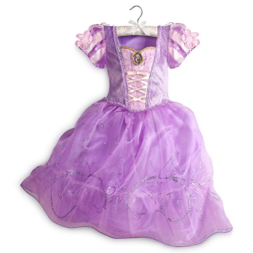 Disney Store Princess Tangled Rapunzel Little Girl Halloween Costume Dress
