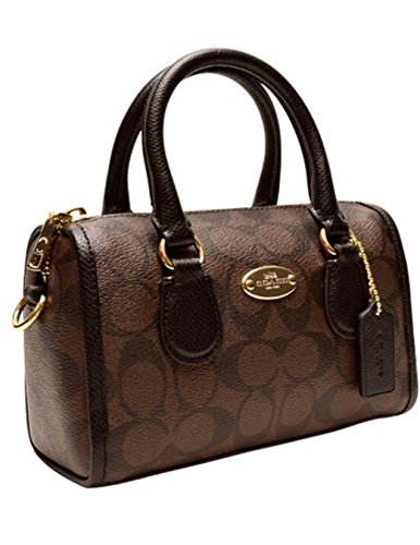 Coach Signature Coated Canvas Baby Bennett Satchel 35232