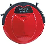 Infinuvo Hovo 650 Red Robotic Vacuum with HEPA Filter, UV Lamp, Home Base, Scheduler, Virtual Blocker & Water Tank for Wet/Dry Mop