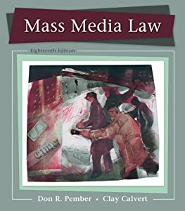 Mon premier blog page 10 mass media law don pember and clay calvert fandeluxe Image collections