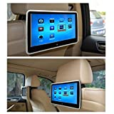 10.1 Inch HD Digital And Wide Screen, Super-Thin Car Headrest Dvd Player With USB And SD And Wireless Game And HDMI and Headphone