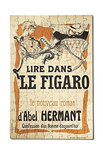 le-figaro-vintage-poster-artist-bonnard-pierre-france-c-1894-12x18-premium-acrylic-puzzle-130-pieces