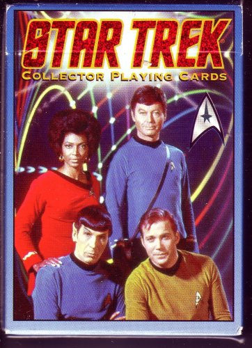 STAR TREK COLLECTOR PLAYING CARDS (HOYLE)-FIRST IN THE SERIES - 1