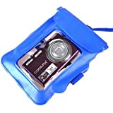Neewer Underwater Waterproof Bag for Digital Camera - Blue