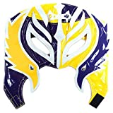 WWE Rey Mysterio Kid Size Yellow and Purple Half Replica Mask