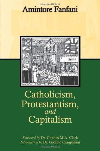 Catholicism, Protestantism, and Capitalism, Amintore Fanfani
