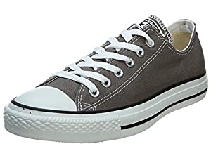 Converse Chuck Taylor All Star Lo (Unisex) Unisex Fashion Shoes 1J794 Size 8 B(M) US Women / 6 D(M) US Men D (Standard Width) Charcoal