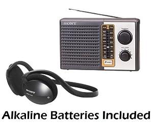 Sony 2 Band Receiver Portable AM & FM Transistor Radio