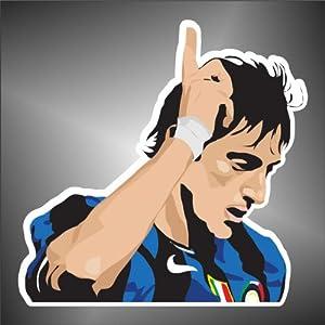 Adesivo Diego Milito Inter Internazionale Argentina Ultras   recensioni
