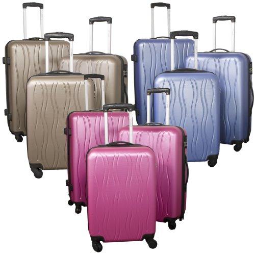 Hartschalen Kofferset 3tlg ABS 'Wien' verschiedene