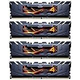 16GB G.Skill Ripjaws 4 DDR4 3200MHz PC4-25600 CL16 Quad Channel kit (4x4GB) Black