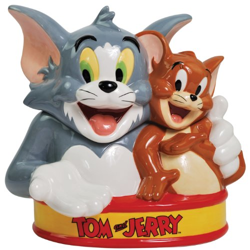Cute Tom And Jerry Cookie Jar For Cat Lovers