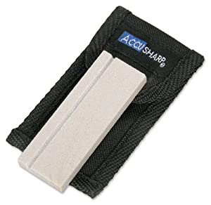 Accusharp 024C 3-Inch Natural Arkansas Sharpening Stone with Pouch at Sears.com