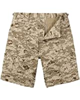 Desert Digital Camo B.D.U. Combat Shorts