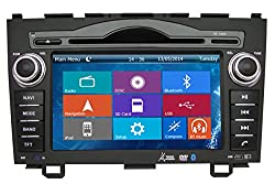 See Crusade Car DVD Player for Honda CRV 2006-2011 Support 3g,1080p,iphone 6s/5s,external Mic,usb/sd/gps/fm/am Radio 7 Inch Hd Touch Screen Stereo Navigation System+ Reverse Car Rear Camara + Free Map Details