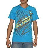 Mens O'Neill V-Neck Skate & Surf T Shirt / Tee - Blue