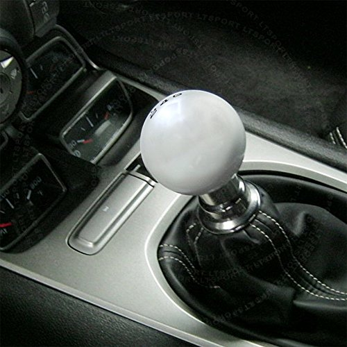SN#100000000846-0843-228 For VW Jetta Silver 5-SPD Shift Knob + Boot Cover combo (Vw Vanagon Transmission compare prices)