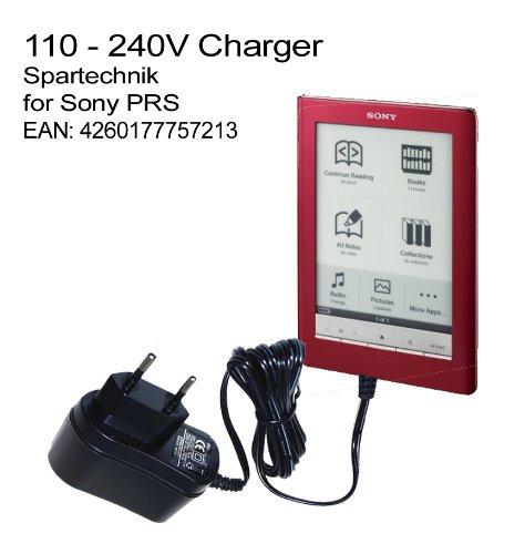 220V Netzteil Travelcharger für Sony eBook Reader PRS-505 PRS-500 PRS-600 Touch. Ladegerät für die Steckdose