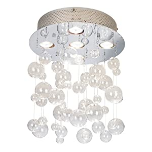 Lighting mania possini euro bubbles 13 34 wide ceiling light fixture possini euro bubbles 13 34 wide ceiling light fixture aloadofball Image collections