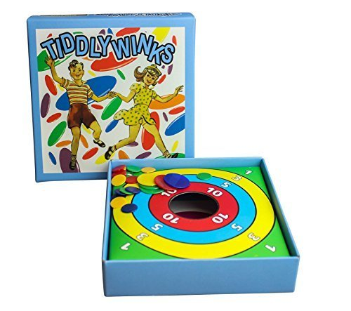 Retro Tiddlywinks. The traditional counter-flipping game.