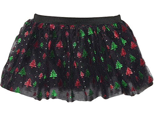 Christmas Tree Tutu skirt - Size 8 to 14 (Black)
