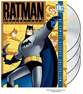 Batman The Animated Series Vol 4 From The Batman Adventures by Warner Home Video