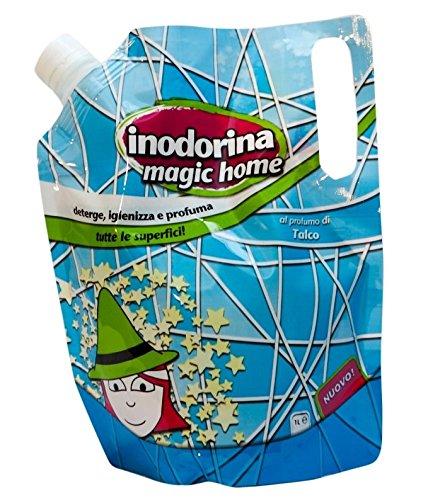 Detergente Inodorina Magic Home - Per profumare e disinfettare al meglio l'ambiente (Talco)