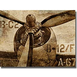 Vintage Propeller by Dylan Matthews Premium Stretched Canvas (Ready to Hang)