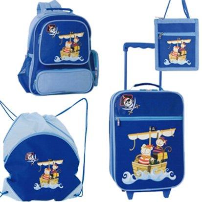 STEFANO : 4 TEILIGES Kinder TROLLEY Koffer SET