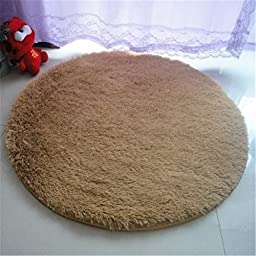 Szxxc Round Shaggy Area Rugs and Carpet for Living Room Bedroom Sitting Room Floor Cover