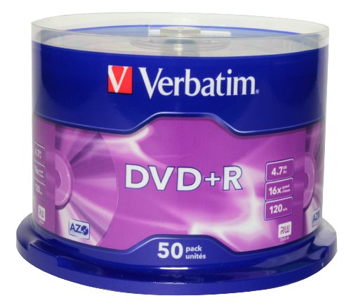 Verbatim Disque DVD+R AZO 4,7 Go 16x