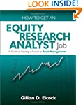How to Get an Equity Research Analyst...