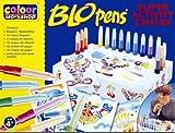Blopens Blo Pens Super Activity Center 15 Pens + Schablonen hergestellt von Blopens