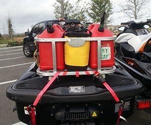 Jet Ski Cooler Holder Gas Can Holder Gear Holder Combo by Plattinum Products, LLC