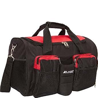 Everest Gym Bag with Wet Pocket, Red,