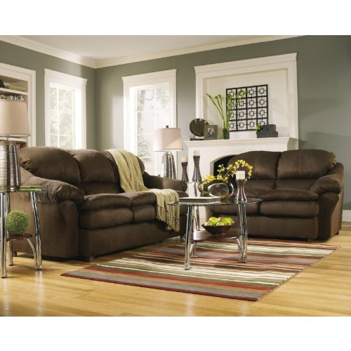 Buy Low Price AtHomeMart Cafe Sofa and Loveseat Set (ASLY6430138_6430135_2PC)