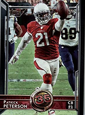 2015 Topps #356 Patrick Peterson T60 - Arizona Cardinals (Topp 60 Ranked Player) (NFL Football Cards)