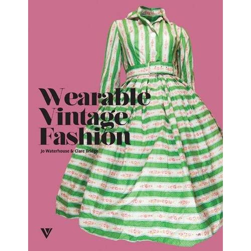 Wearable Vintage Fashion Book Cover
